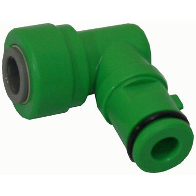 HYDROLOGIC ECO GREEN COUDE DE DRAIN3 / 8'' QC (1)