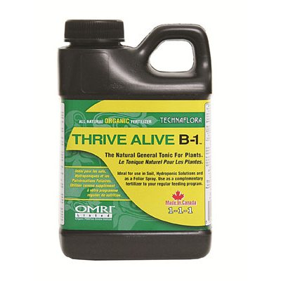 TECHNAFLORA THRIVE ALIVE B1 GREEN 250ML (1)