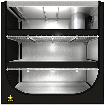 SECRET JARDIN DARK PROPAGATOR TENTE 4' X 2' X 4' - DP120 (1)