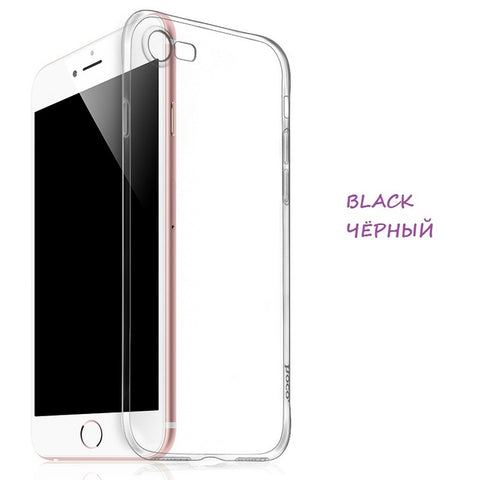 HOCO Clear Soft Case for iPhone 7 & 7 PLUS Transparent Protective Cover