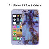 Jderv Marble Case For iPhone 6 6S S Silicone Cover