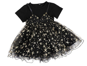 Black Occasional Tulle dress