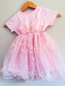 Pink occasional dress