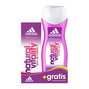 Women's Perfume Set Natural Vitality Adidas (2 pcs)