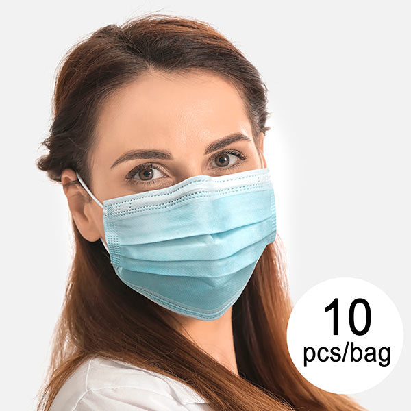 3 Layer Disposable Surgical Mask Type I Model B (Pack of 10)