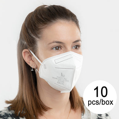 Protective Respirator Mask FFP2 NR JU FM0201-966 5 layers (Pack of 10)