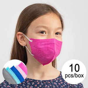 Protective Respirator Mask FFP2 NR JBK-03 Children's Multicolour (Pack of 10)