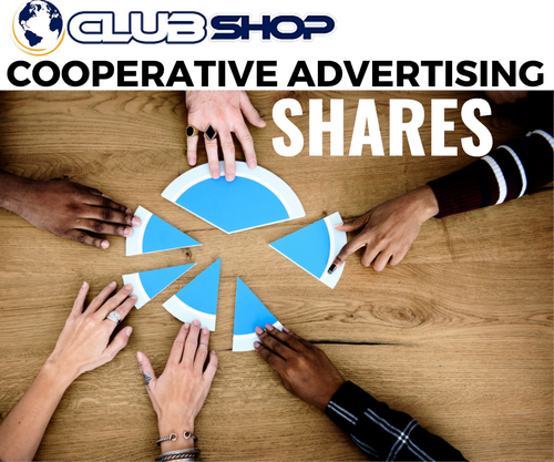 Shares Clubshop CO-OP Advertising