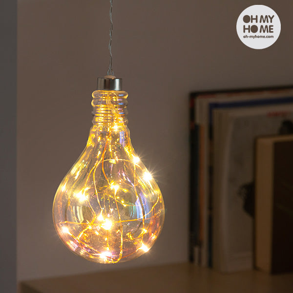 Oh My Home Retro Rainbow LED Light Bulb Lamp