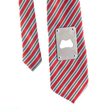 Tie with Metal Bottle Opener
