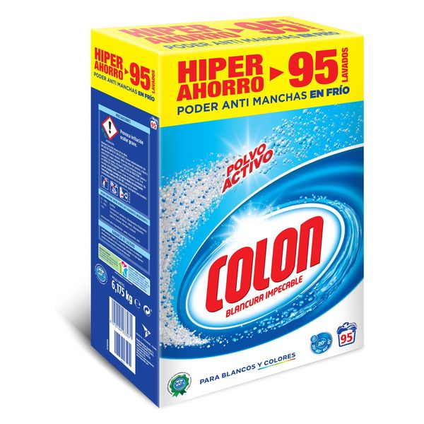 Colon Active Powder Laundry Detergent (95 Loads)