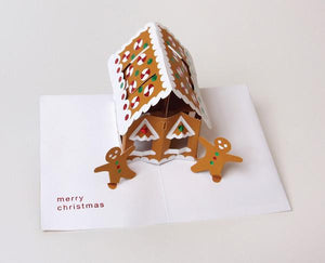 Pop - Up Gingerbread House - Xmas (Singles)