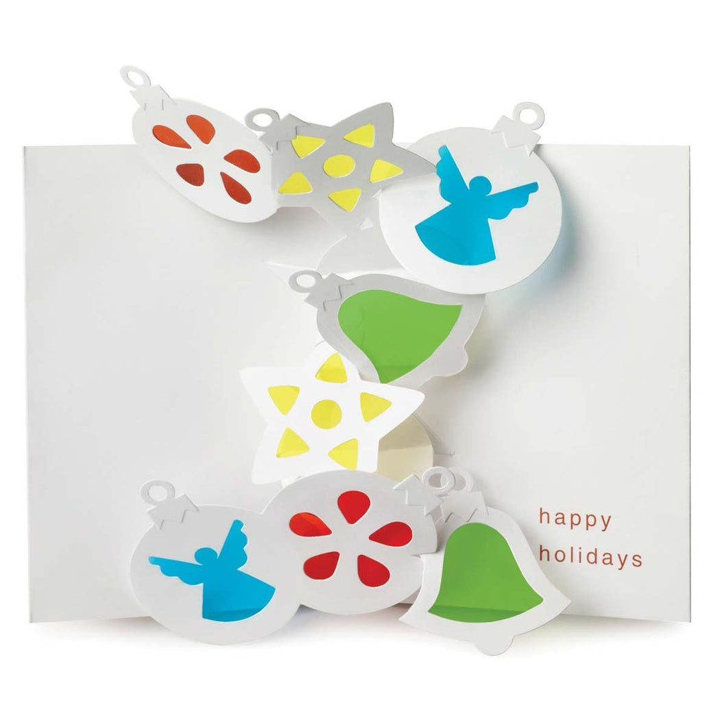 Sabuda Pop Up - Stained Glass Ornaments (Singles)