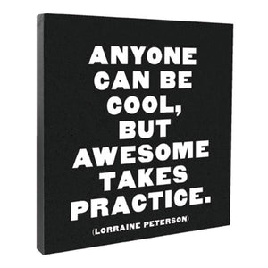 Anyone Can Be Cool - CANVAS