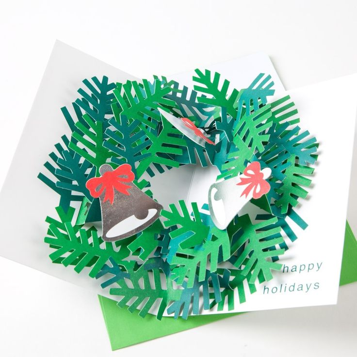 Pop Up Wreath (singles) -Xmas