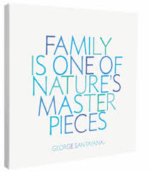 Family Is One Of Nature's - CANVAS