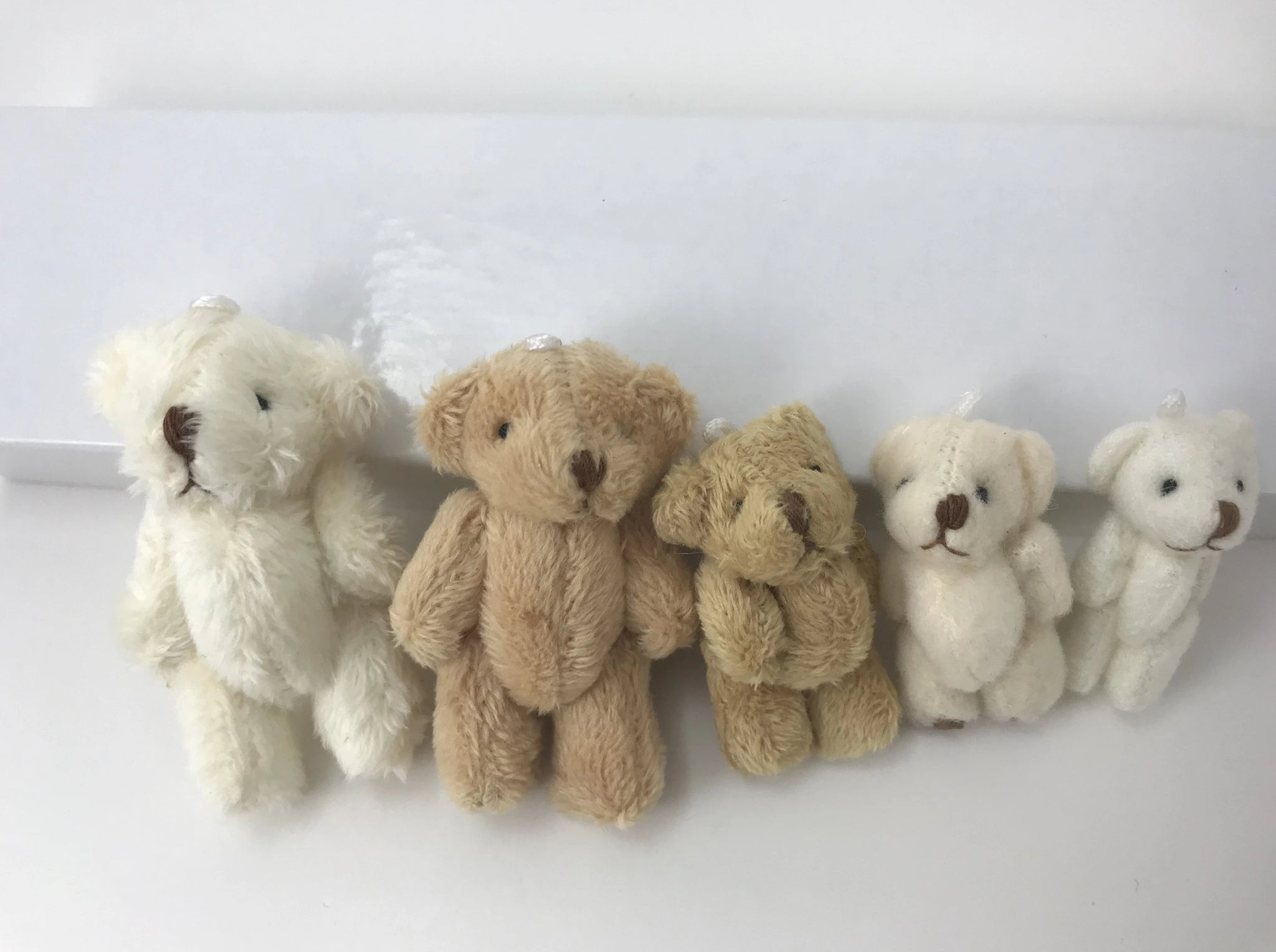 Miniature Teddy Bear Family