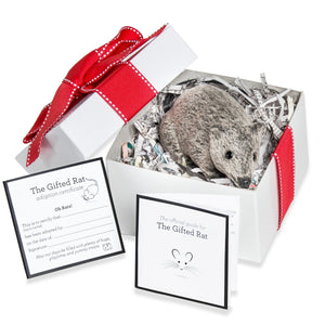 BEST SELLER - Funny Gift Gray Fake Rat