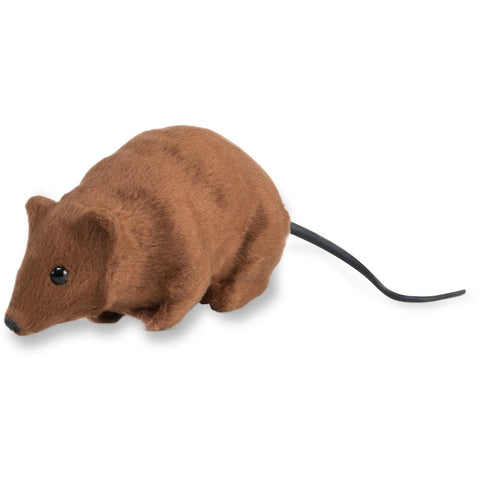 Realistic Brown Fake Rat