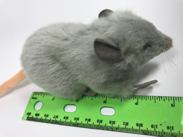 Realistic Stuffed Mouse