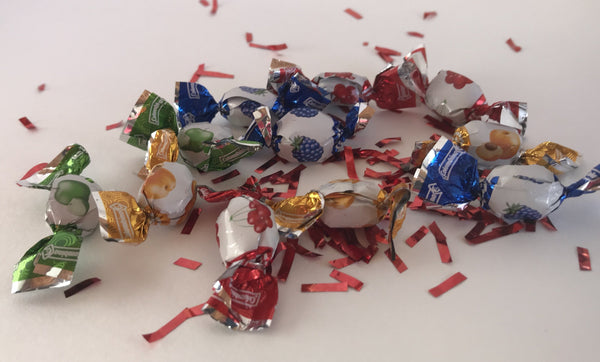 Miniature hard candies