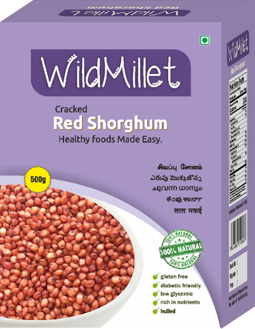 Unpolished Red Sorghum (Online Only)