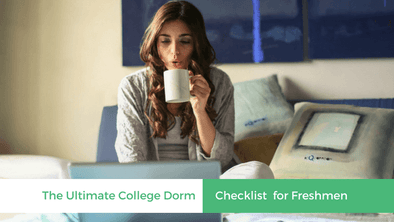 College Dorm Checklist For Freshmen