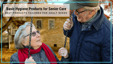 Basic Hygiene Products Like Biodegradable Wet Wipes and No-Rinse Shower Wipes for Senior Care