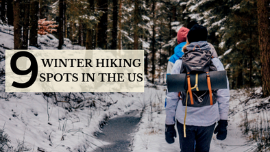 9 Winter Hiking Spots To Visit in the United States