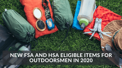 New FSA and HSA Eligible Items for Outdoorsmen in 2020