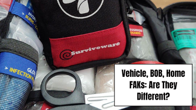 Vehicle, BOB, Home FAKs: Are They Different?