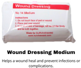 Wound dressing medium