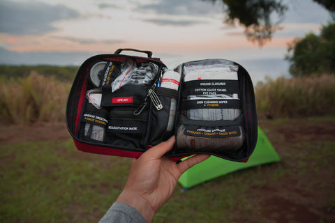 Surviveware best small first aid kit for travel and backpackers