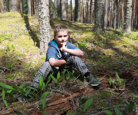 Wilderness Survival Training for kids Stop! Sit, Think, Observe, Plan