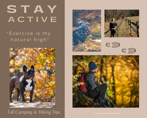10 tips for hiking and camping in fall - Stay Active