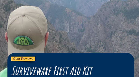 Backyard Adventures - Surviveware First Aid Kit
