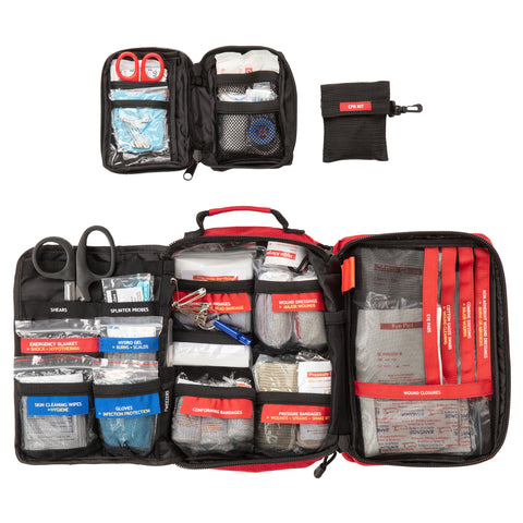 Surviveware Large First Aid Kit - Everything Inside the Bag