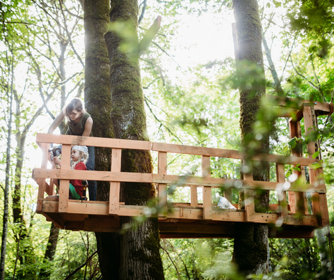 Being outdoors increases your creativity and innovative thinking