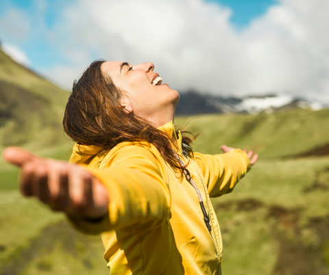 Being outside helps your mental health