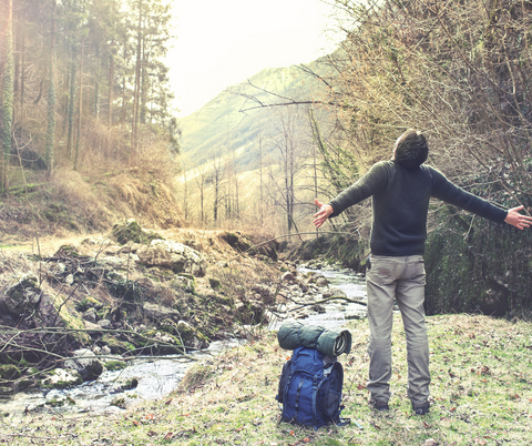 Being outdoors relieves our stress cortisol levels