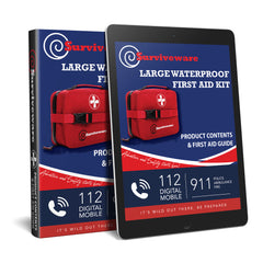 Large Waterproof First Aid Kit Guide