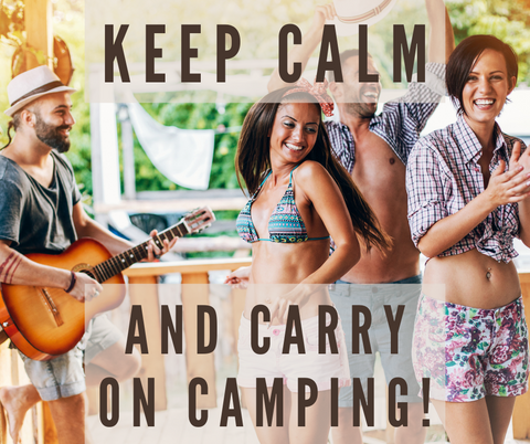 Keep calm and carry on camping with Surviveware