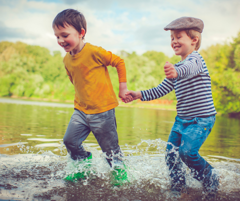 Outdoor play gives children a sense of freedom - Risky Play