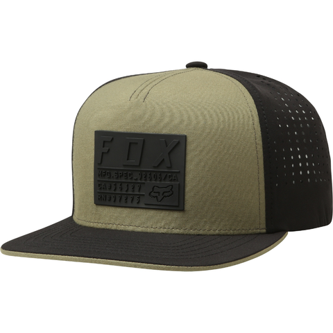 Fox Redplate Tech Snapback Cap