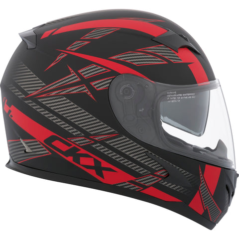 CKX RR610 RSV Drift Helmet (Matte Red)