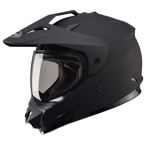GMAX GM11 Dual Sport Helmet with Double Lens