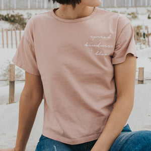 Embroidered vintage t-shirt