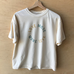 Love More - Women's Relaxed Tee (Natural)