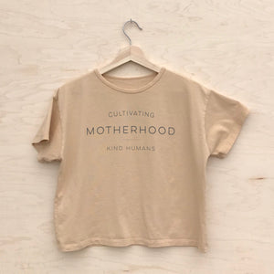 Cultivating Kind Humans - Women's Boxy Tee (Honey)