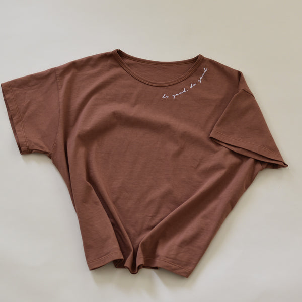 Be Good - Women's Boxy Tee (Red Earth)